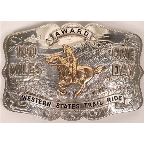 Pony Express Award Buckle  [138074]