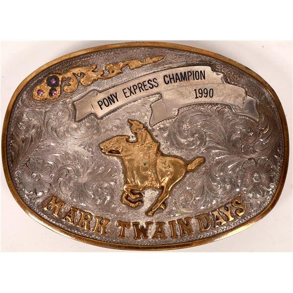 Pony Express Buckle  [138084]