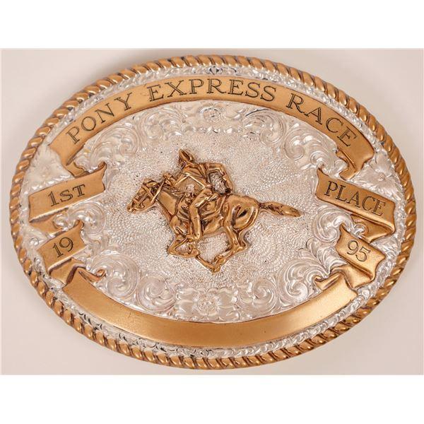 Pony Express Race Buckle  [138083]