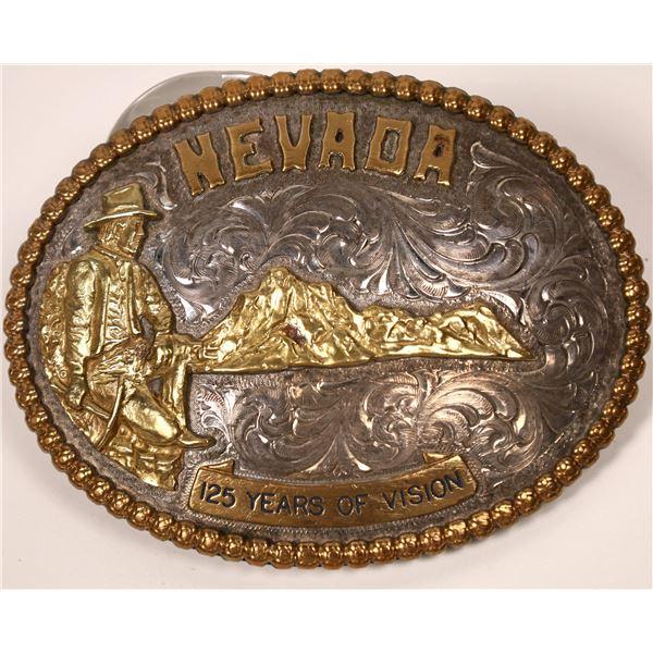 Nevada 125th Belt Buckle.  [138076]