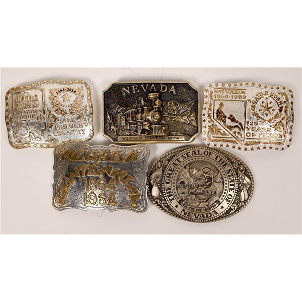 Nevada Anniversary Belt Buckles  [138060]