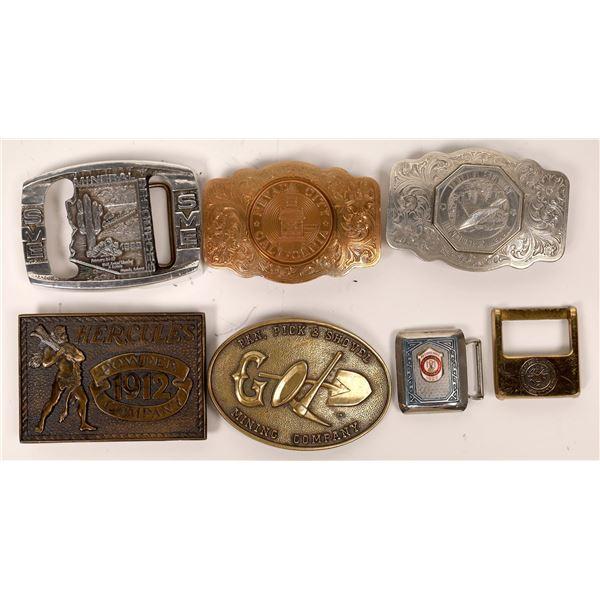 Mining Company Belt Buckles  [138063]