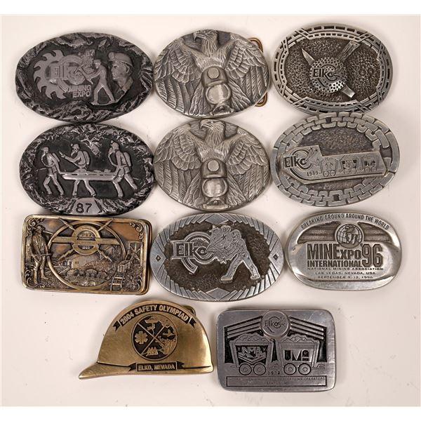 Mining Expo Buckles  [138065]