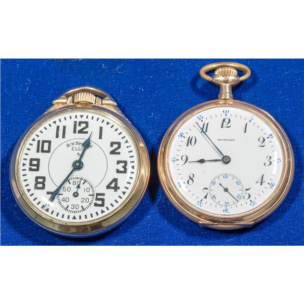 2 Railroad Pocket Watches  [140355]