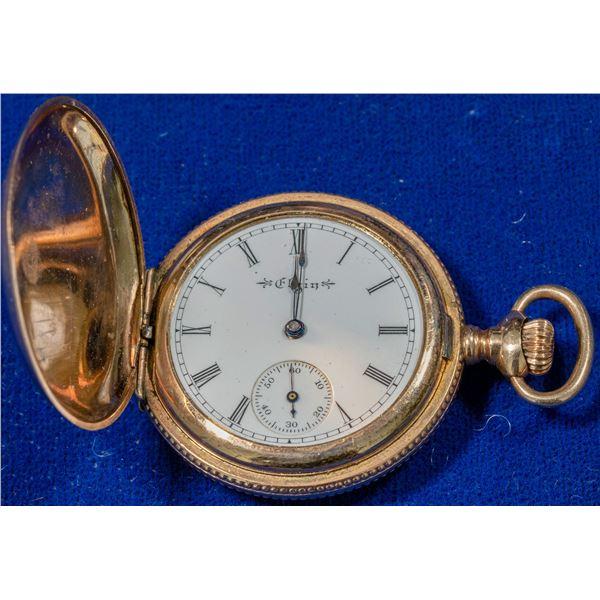 Black Hills Gold Elgin Pocket Watch  [140353]
