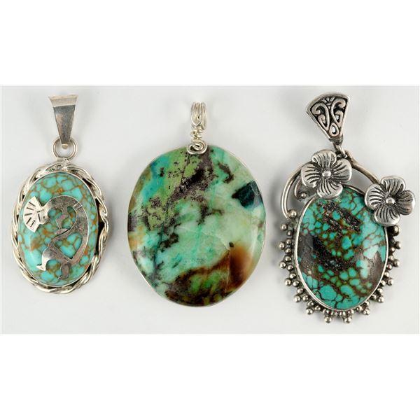 Turquoise Pendants - 3  [138340]