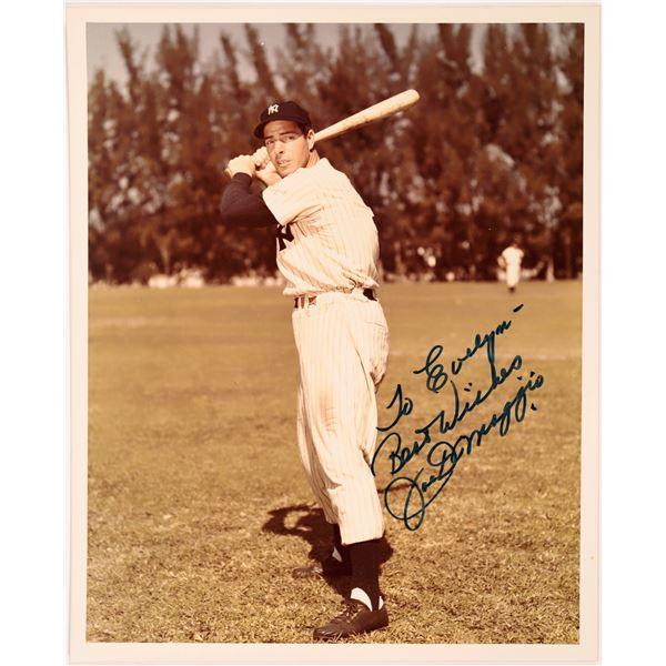 Joltin' Joe DiMaggio Signed Photo  [131729]
