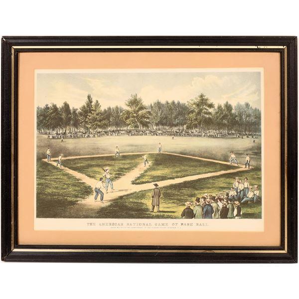 Baseball Art Print  [139176]