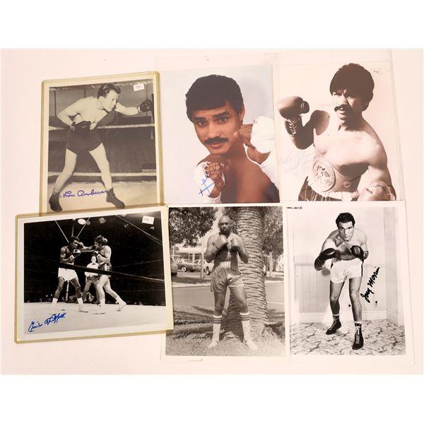 Signed Boxer Photos (6)  [128972]