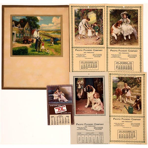 Advertising Calendars (5)  [139228]