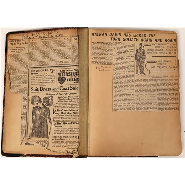 Album of Women's Rights Newspaper Clippings  [139127]
