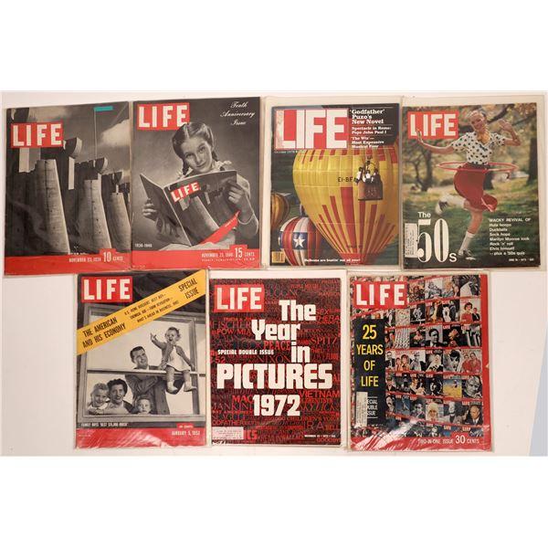 Life Magazine Collection (7)  [139672]