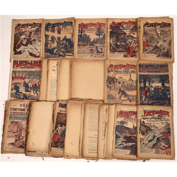 """Collection of """"Pluck & Luck"""" Kid Magazines  [139331]"""