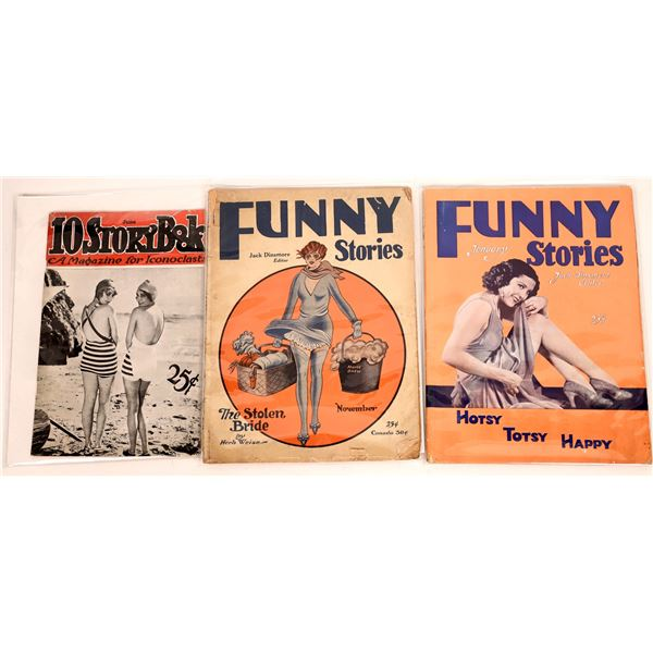Funny Stories and 10 Story Book Magazines 1930-1931  [140019]