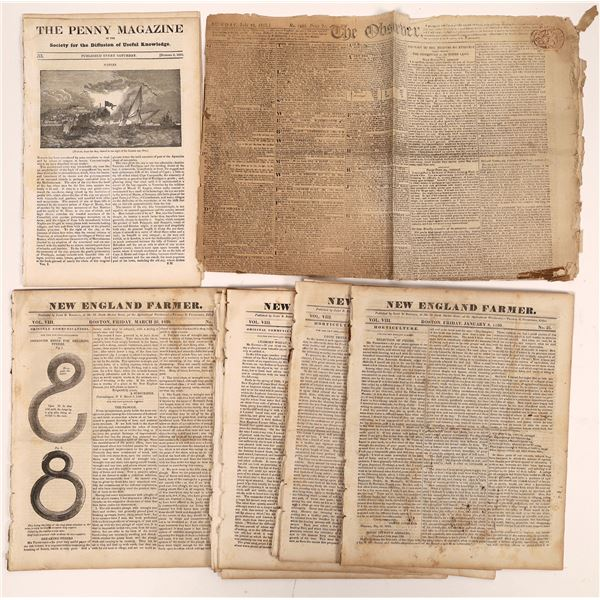 Early Newspapers (12)  [139284]