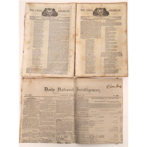 Early Newspapers (3)  [139286]