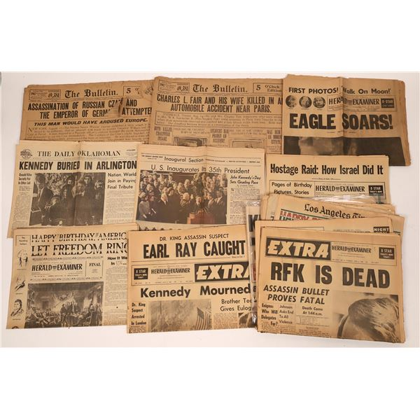 Newspapers Featuring Major Events (16)  [139507]