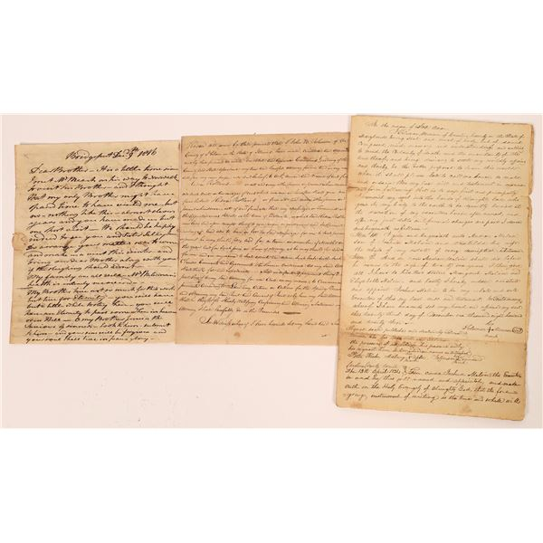 Early US Letters (3)  [139216]