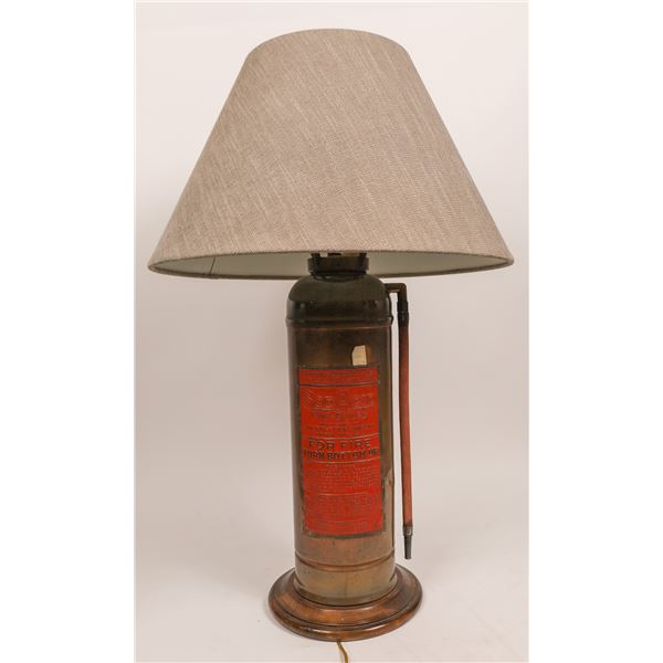 Fire Extinguisher Table Lamp  [140024]
