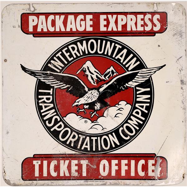 Intermountain Transportation Company Express Metal Sign  [139870]