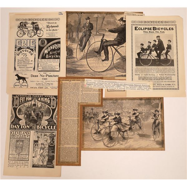 Vintage Bicycle Advertising  [140485]