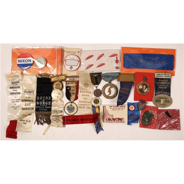 Miscellaneous Badges and Ribbon Collection  [139254]