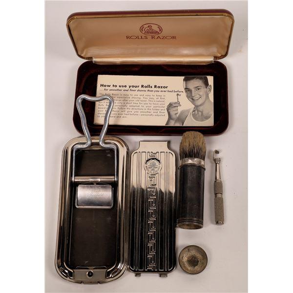 Rolls Razor and Sterling Silver Shaving Cream Brush  [138563]