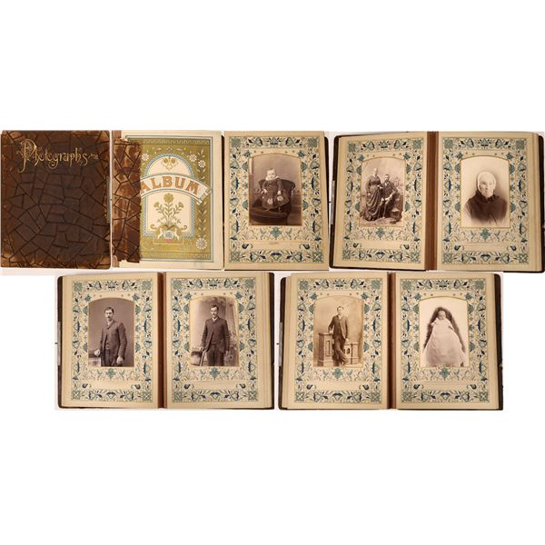 Family Photo Album 1865-1885  [138452]