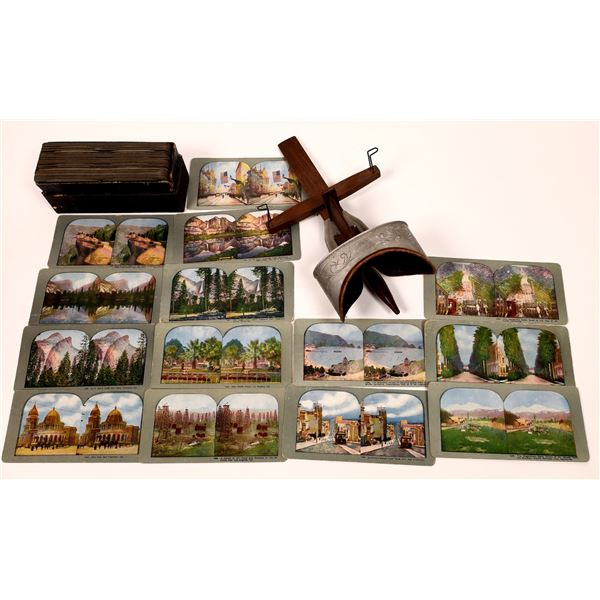 Stereo Card Collection with Original Viewer (50+ Stereo Cards)  [140721]