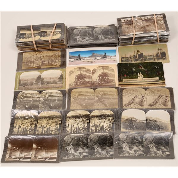 Stereoviews of Mining, Oil, and Foreign ~ 80  [140407]