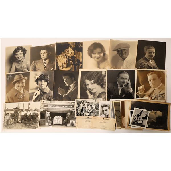 Vintage Photography Portrait Collection Including Hollywood Stars  [139303]