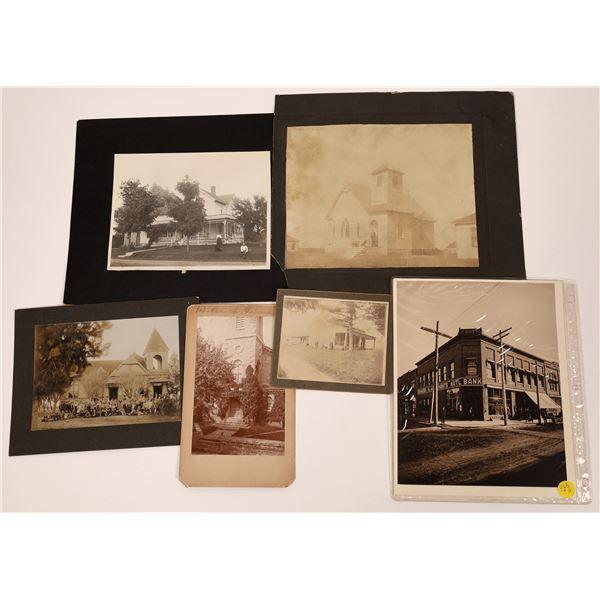 Vintage Building Photographs  [139318]