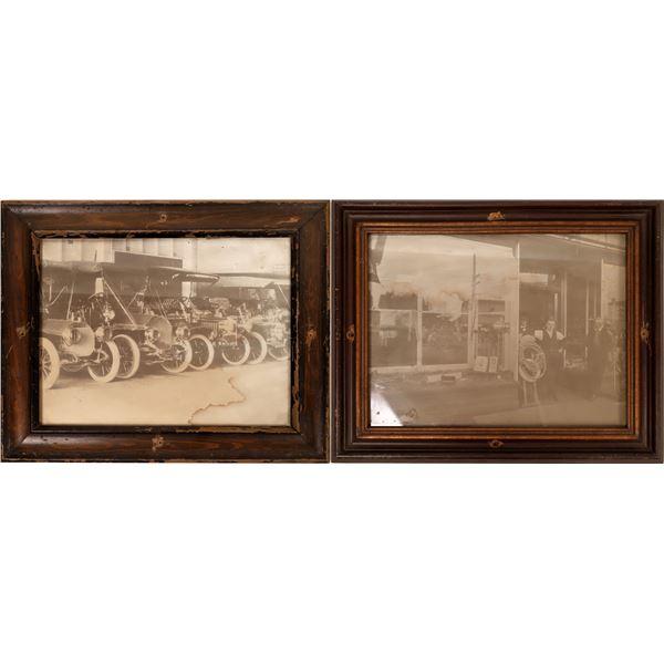 Antique Auto and Businessmen Photographs  [139847]