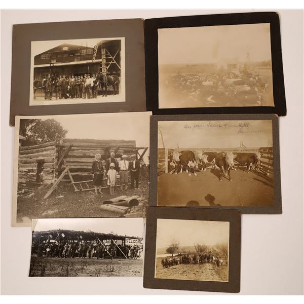 Vintage Farming and Frontier Photographs  [139319]