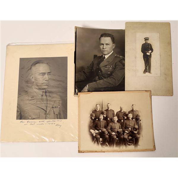 Men in Uniform Antique Photographs  [139301]