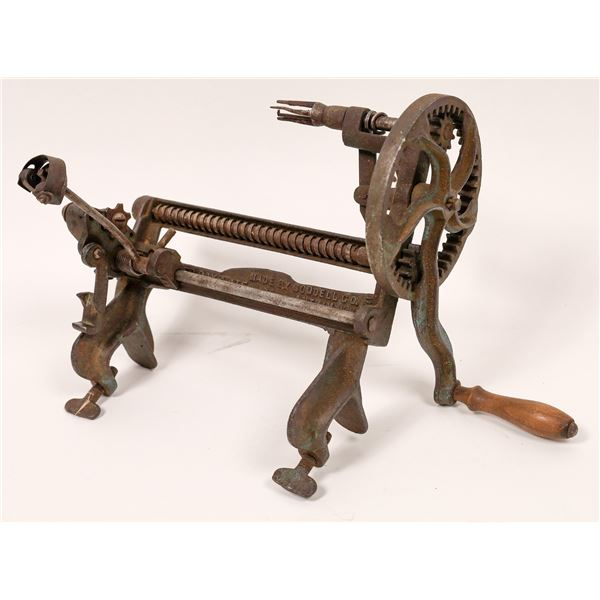 Improved Bay State Apple Peeler by Goodell  [139492]