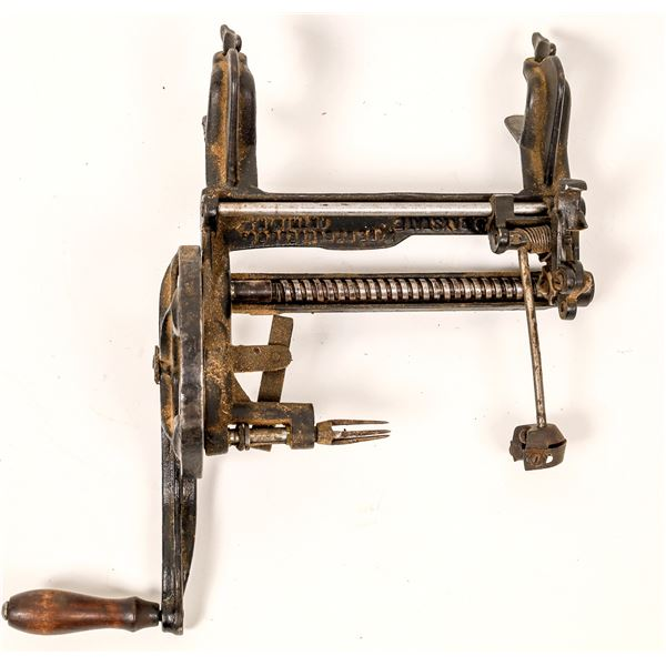 Improved Bay State Apple Peeler by Goodell  [139493]