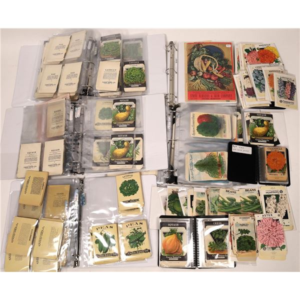 Seed Packet Collection, c1900-1925  [139935]