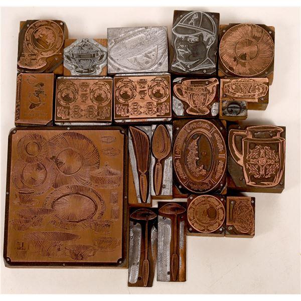 Old Printer's Blocks  [140004]