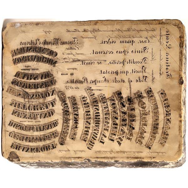 Lithographic Stone  [139981]