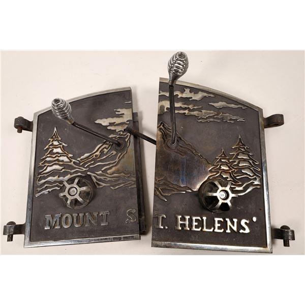 Mount St. Helens Woodstove Cover Doors  [139315]