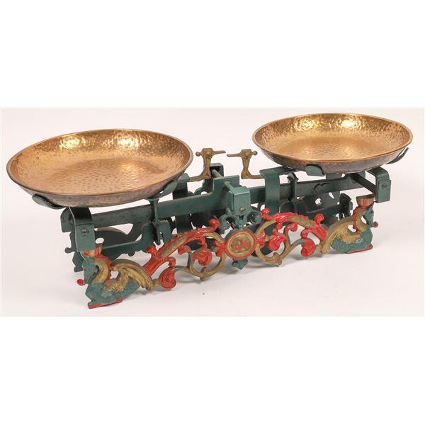 Decorative Scale, Cast-Iron Frame 10 kg Capacity  [140393]
