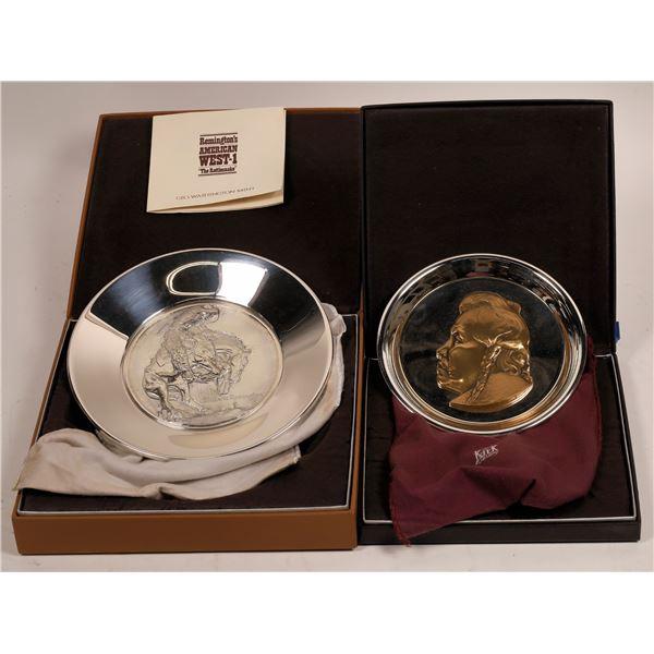 Geo. Washington Mint Collector Plates  [138593]
