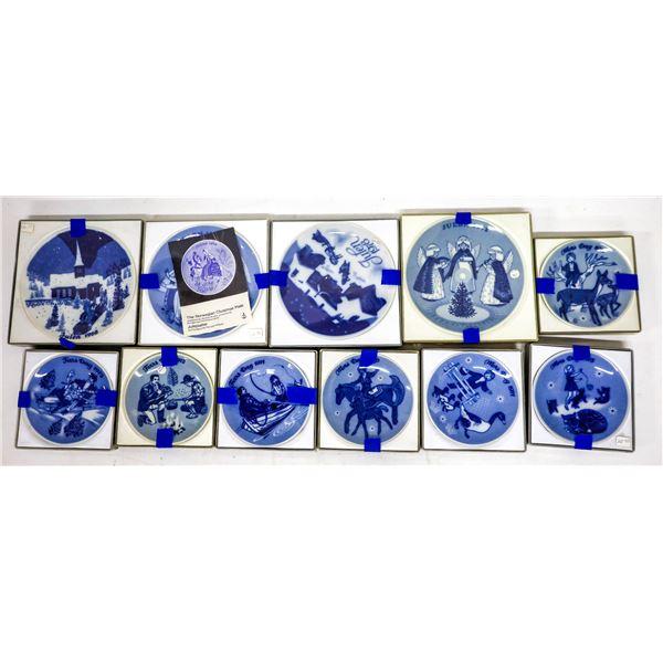 Norwegian Holliday Collector Plates  [138421]