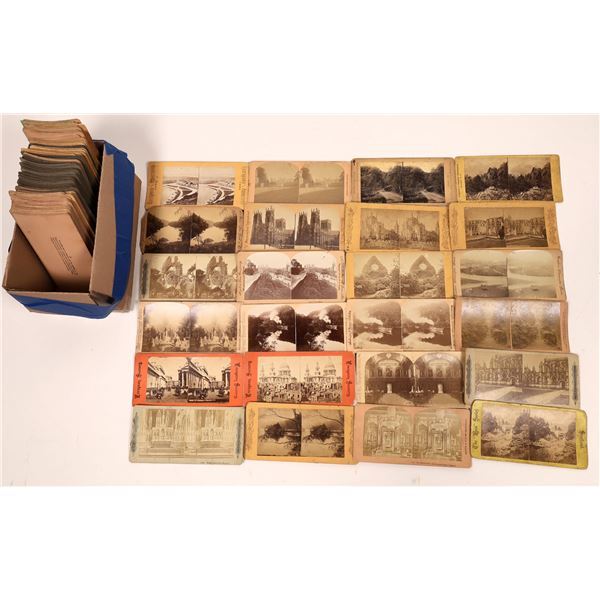 Stereo View Card Collection United Kingdom  [139762]