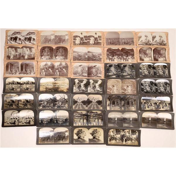 Keystone Asian Stereo Views (30)  [129713]