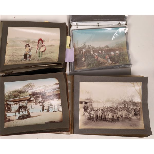 Hand-Tinted Japanese Photograph Collection (165+) RARE!  [140725]
