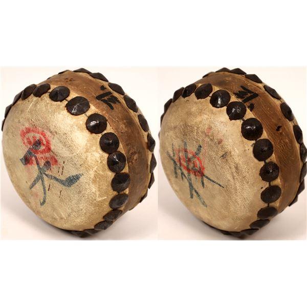 Vintage Chinese Drum  [139658]
