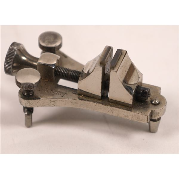 Antique Jewelers Vise in Original Box made just for this vice  [138284]