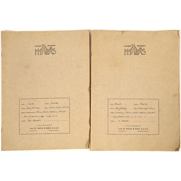 1950s German Fashion Design Sketchbooks  [138538]